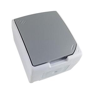 Solight Zásuvka do vlhkého prostredia IP54